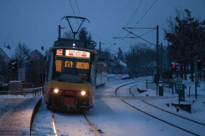 Haltestelle West ⋅ Walzbachtal-Jöhlingen