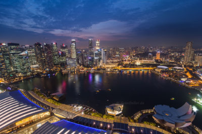 Marina Bay, CBD ⋅ Singapur