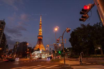 Akebanebashi St. °, Tokyo Tower ⋅ Tokyo-Minato