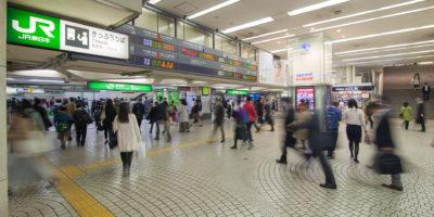 Shinjuku Station (JR) ⋅ Tokyo-Shinjuku