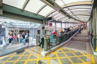 Central to mid-levels escalator ⋅ Hongkong