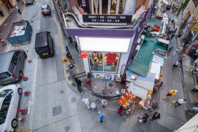 Lyndhurst Terrace / Gage Street ⋅ Hongkong
