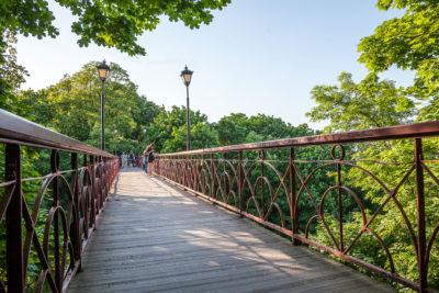 Chreschtschatyj Park Brücke ⋅ Kiew