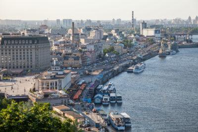 Podil, Flusshafen Kiew ⋅ Kiew