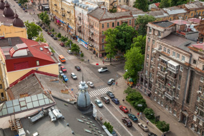 Bohdana Khmelnytskoho vul. ⋅ Kiew