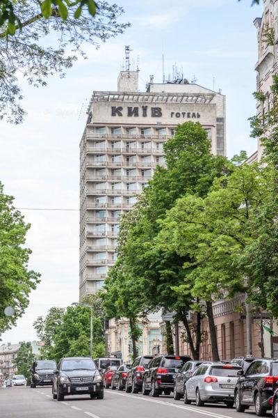 M. Hrushevskoho vul., Hotel Kyiv ⋅ Kiew