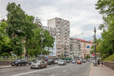 Mykhaila Hrushevskoho vul. ⋅ Kiew
