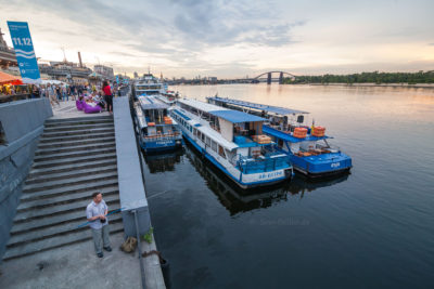 Kiewer Schiffslanleger ⋅ Kiew