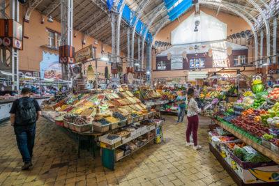 Bessarabska-Markthalle ⋅ Kiew