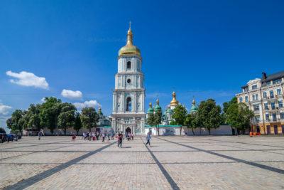 Sofiiska pl., Sofien-Glockenturm ⋅ Kiew