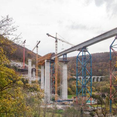 Filstalbrücke ⋅ Mühlhausen im Täle °