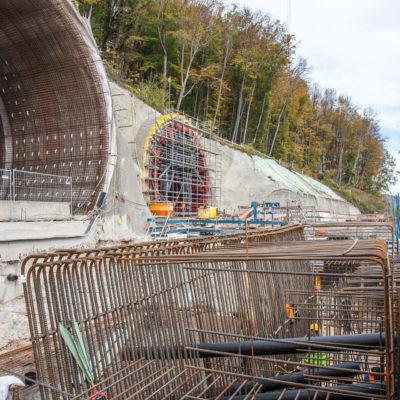 Filstalbrücke, Boßlertunnel ⋅ Mühlhausen im Täle °