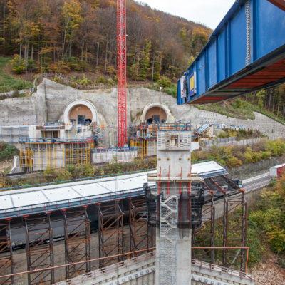 Filstalbrücke, Steinbühltunnel ⋅ Mühlhausen im Täle °