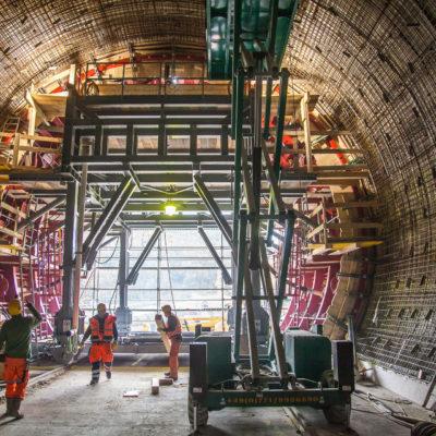 Boßlertunnel ⋅ Mühlhausen im Täle °