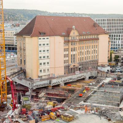 Bundesbahndirektion ⋅ Stuttgart